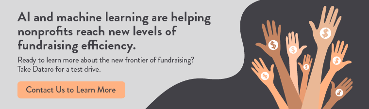 Artificial intelligence is helping nonprofits improve their fundraising ROI in brand new ways.